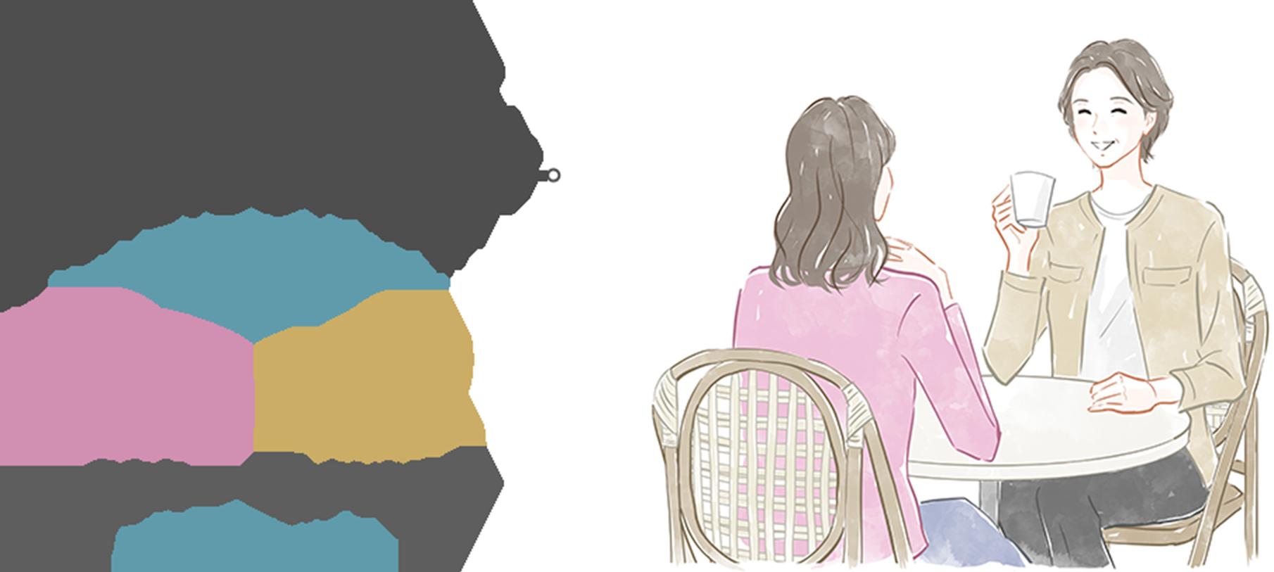 東京カフェカウンセリングのカウンセラーと一緒なら、ネガティブサイクルから抜けだせます!